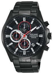 Pulsar Sport Black/Steel Ø43 mm PM3065X1