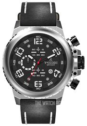 Timecode Everest 1953 Black/Leather Ø48 mm TC-1004-01