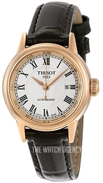 Tissot T-Classic White/Leather Ø29.5 mm T085.207.36.013.00