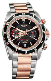 Tudor Grantour Chrono Fly-Back Black/18 carat rose gold Ø42 mm 20551N-95731-BIDGD