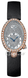 Breguet Reine De Naples Diamond set/Satin Ø24.95 mm 8928BR-8D-844 DD0D