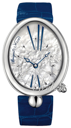 Breguet Reine De Naples White/Leather Ø35.5 mm 8967ST-51-986