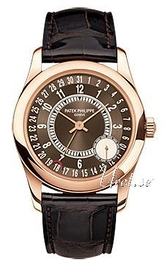 Patek Philippe Calatrava Brown/Leather Ø37 mm 6000R