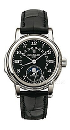 Patek Philippe Grand Complications Black/Leather Ø36.8 mm 5016P/018