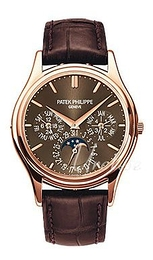 Patek Philippe Grand Complications Brown/Leather Ø37.2 mm 5140R/001