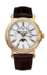 Patek Philippe Grand Complications White/Leather Ø38 mm 5160J/001