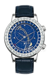 Patek Philippe Grand Complications Celestial Blue/Leather Ø44 mm 6104G/001