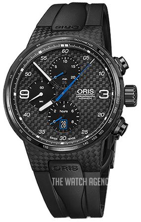 bf414e289 Oris Motor Sport Black/Rubber Ø44 mm ref. 01 674 7725 8784-Set 42454FCTB